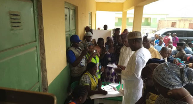 Card Reader Breaks Down At Dogara's Polling Unit