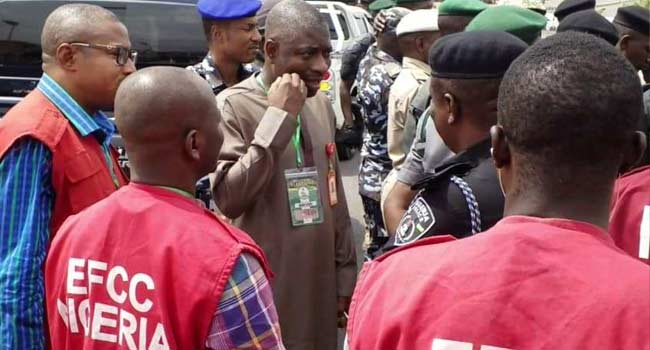 PHOTOS: EFCC Monitors Elections To Check Vote-Buying