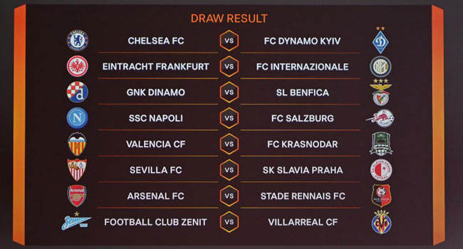 Europa League 2019 Twitter: Arsenal, Chelsea Draw Rennes, Dynamo Kiev In Europa League