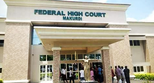 Court Orders EFCC, Two Banks To Pay Benue Govt. N100m
