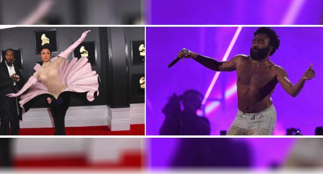 Cardi B, Childish Gambino Make History At Grammy 2019