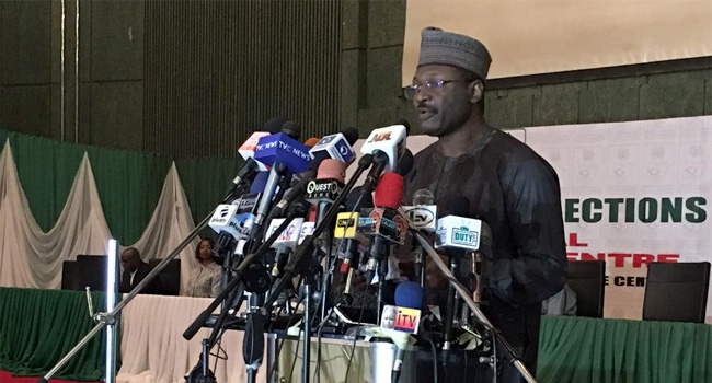 Card Readers Will Automatically Shut Down By 10PM On Election Day – INEC Chairman