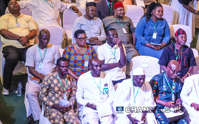 Presidential Election Results Collation: Scenes From INEC
