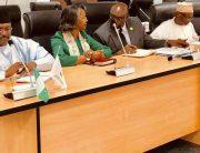 PHOTOS: EU Observers, Parliament Members Meet INEC Over Elections