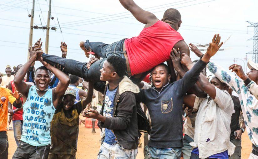 PHOTOS: Supporters Jubilate As Buhari Defeats Atiku