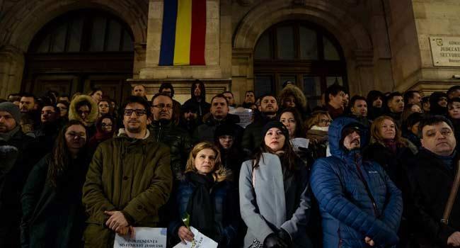 Judges Protest Against Threat To Justice In Romania