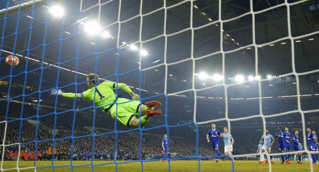 Sane 'Sorry' For Stunning Free-Kick Against Ex-Club Schalke
