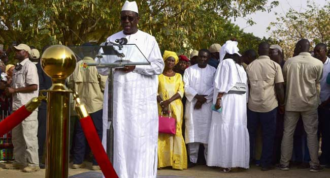 Senegal President Sall Wins Re-Election In First Round