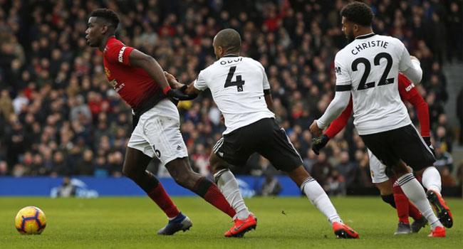 Man U Thrash Fulham 3-0 In Exciting EPL Clash