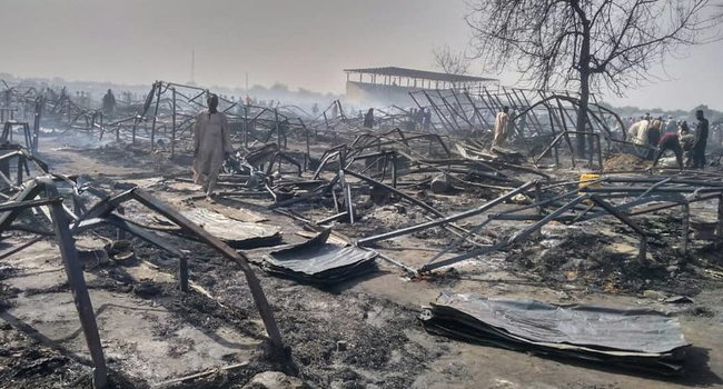 UN Humanitarian Coordinator Sympathizes With Victims Of Borno IDP Camp Fire