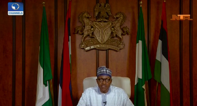 Full Text Of President Buhari's Broadcast Ahead Of General Elections