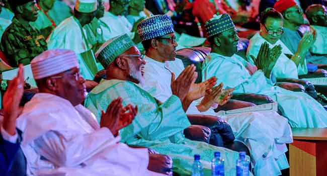 Elections: Atiku And Buhari Arrive At Venue For Signing Of Second Peace Accord