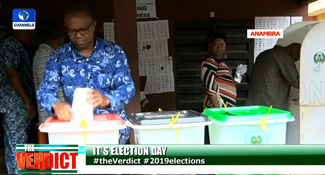 General Elections: 'I Have Faith In The Process', Obi Says After Casting His Vote