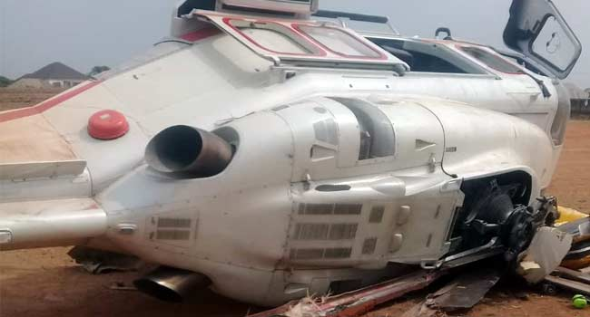 Osinbajo escapes as 'own' Helicopter crashlands
