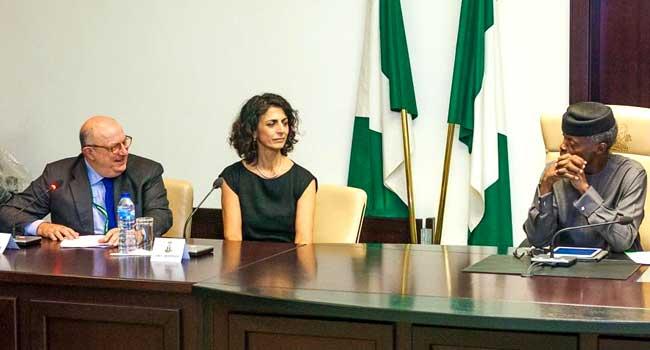 Osinbajo Meets With EU Observers In Abuja