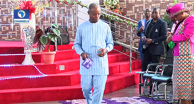 How Adeboye Called, Prayed For Me Before Helicopter Crash — Osinbajo