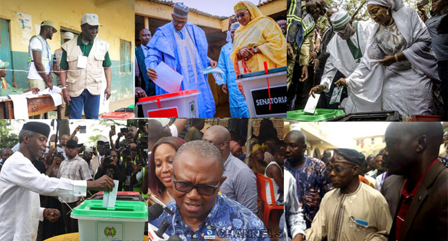 PHOTOS: Candidates, Prominent Nigerians At The Polls