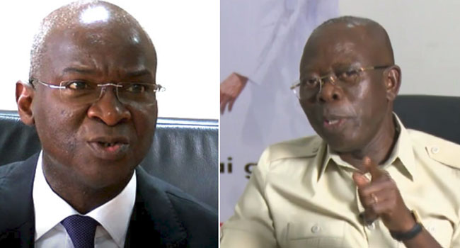 Fashola Disagrees With Oshiomhole On Call For INEC Chairman's Resignation