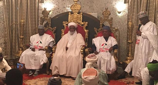 Atiku, Secondus Visit Sultan Of Sokoto