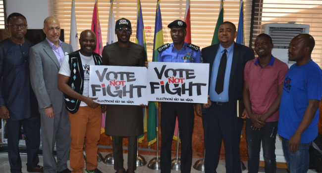 2019 Elections: 2baba Visits IGP, Pushes For Increase In Youth Voter Turnout