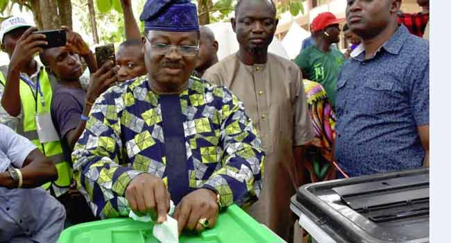 Ajimobi Commends Peaceful Conduct Of Polls In Oyo