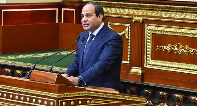 Egypt's President Al-Sisi To Chair African Union