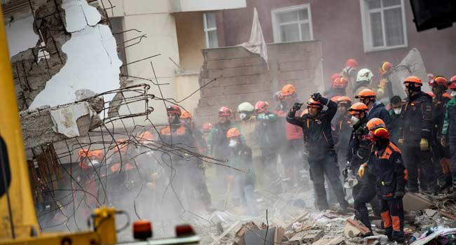 Death Toll Rises To 10 In Istanbul Apartment Block Collapse