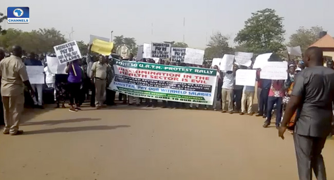 Health Workers Commence Three-Day Protest Rally
