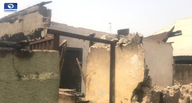Pregnant Woman, Two Children Killed As Fire Engulfs Building In Niger