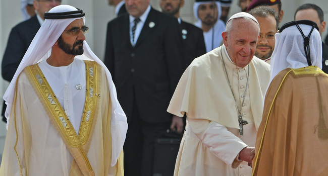 Pope Francis Makes History With Muslim Dialogue In UAE