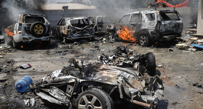 Nine Killed In Somali Market Car Bombing