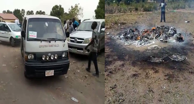 Suspected Thugs Attack Electoral Officials, Burn Voting Materials In Benue