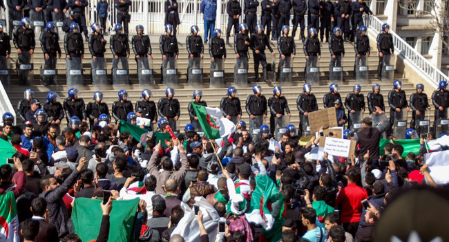 Algerians Protest Bouteflika Bid For Fifth Term As Deadline Looms