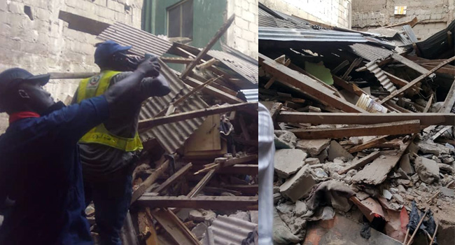 Four Rescued As Another Building Collapses In Lagos During Demolition