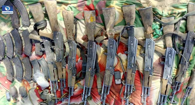 Troops Kill Over 30 Insurgents In Lake Chad Area, Recover Assorted Weapons