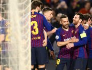 BREAKING: Barcelona Thrash Lyon In Champions League Last 16