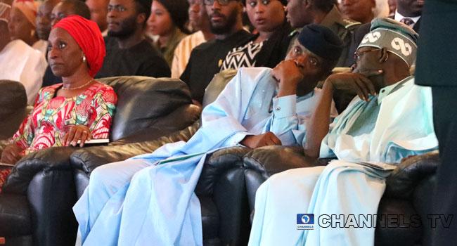 Osinbajo, APC Leaders Attend Bola Tinubu Colloquium In Abuja