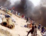 Several Reported Dead As Fire Guts Borno IDP Camp