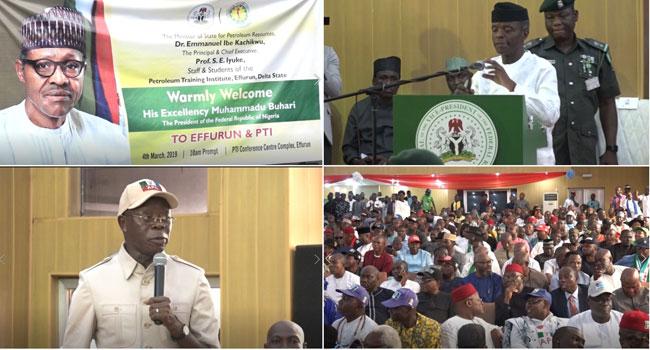 Osinbajo Visits Delta, Akwa Ibom Ahead Of Governorship Election