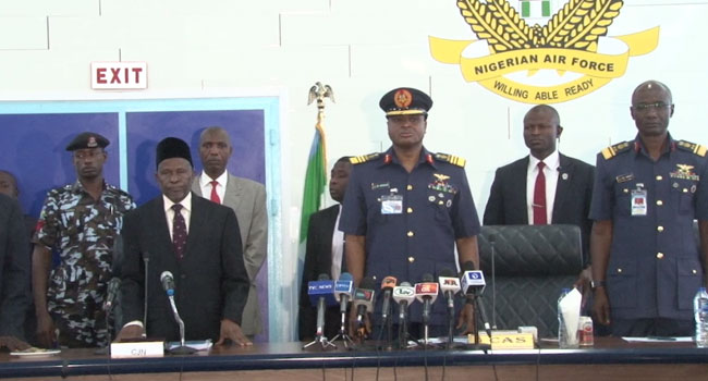 Acting CJN, Air Chief Call For Support For Military, Less Criticisms