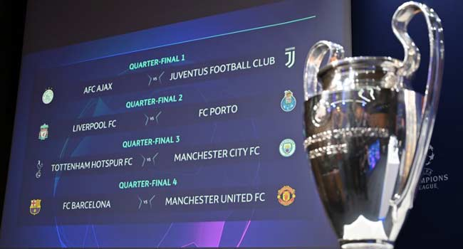 Champions League Quarter-Final And Semi-Final Match-Ups