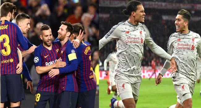 Champions League Quarter-Final Line-Up, Last-16 Results