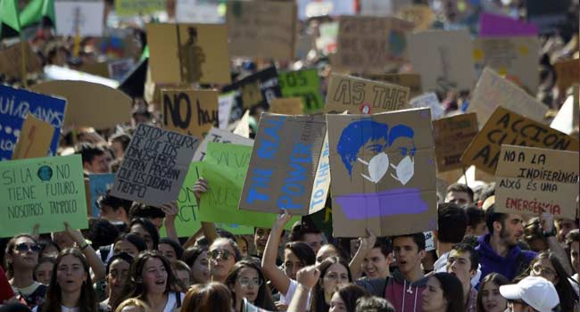 Youths Protest Globally, Call On World Leaders To Push For Climate Change