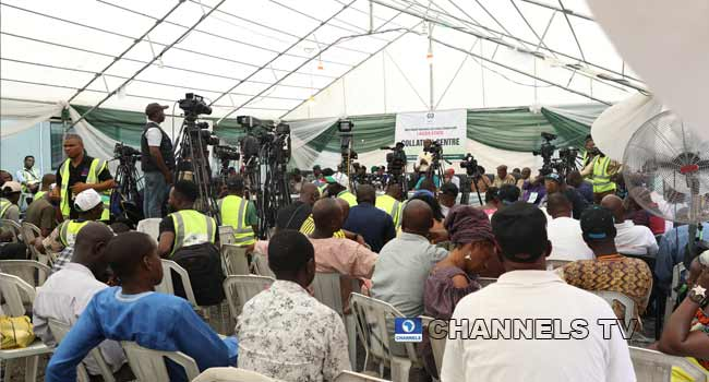 PHOTOS: Final Collation Of Governorship Election In Lagos