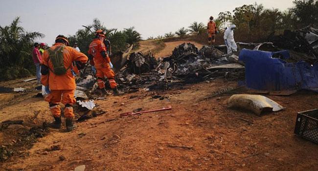 Twelve Dead In Colombia Plane Crash
