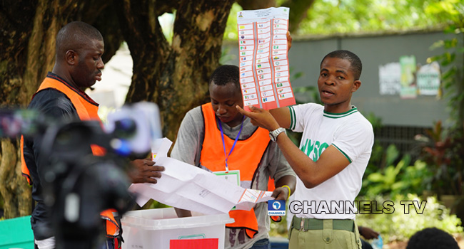 PHOTOS: Counting, Collation Of Votes In Lagos
