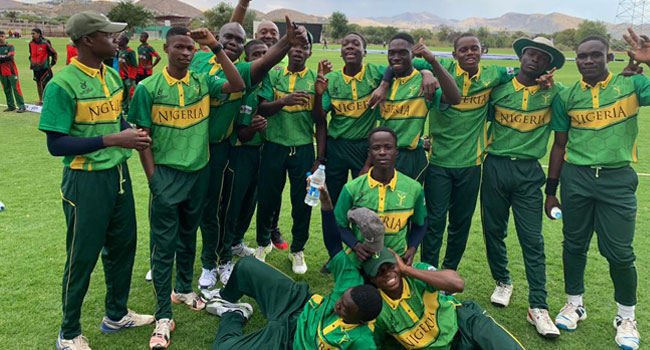 Nigeria On The Verge Of Qualifying For U-19 Cricket World Cup