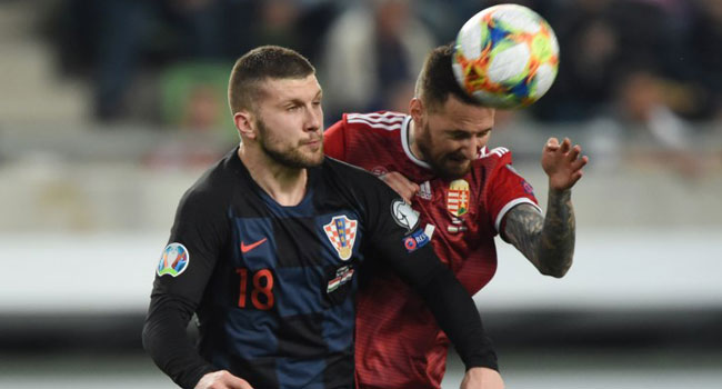 EURO 2020 Qualifier: Croatia Slump To Hungary Defeat