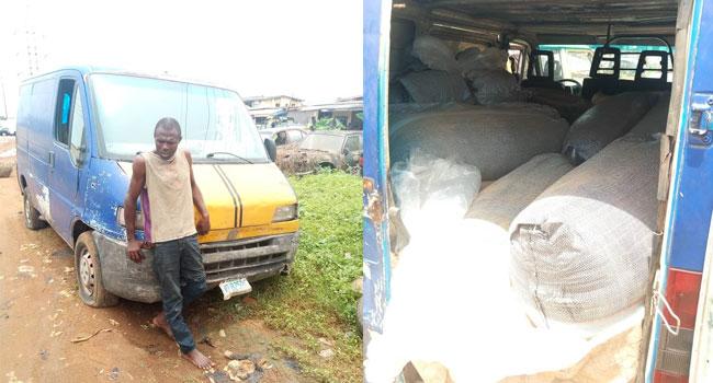 Police Nab Suspected Illegal Fuel Bunker In Ejigbo