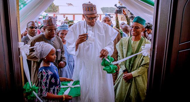 Buhari Visits Kaduna, Commissions Command And Control Centre